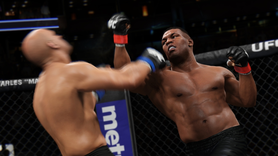 EA Sports UFC 2 Mike Tyson modo KO