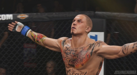 mike tasier EA Sports UFC 2
