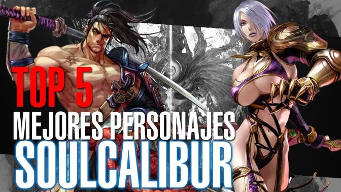 Los mejores personajes de SoulCalibur